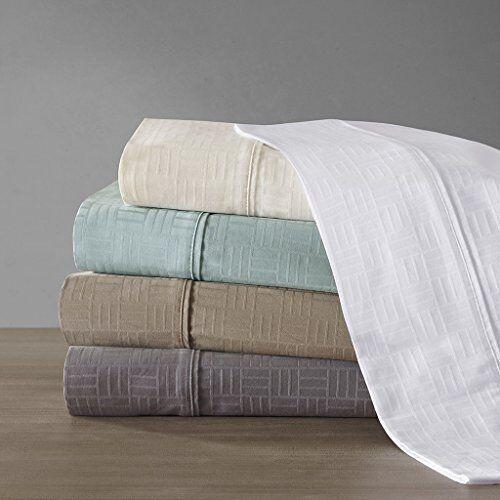 Metropolitian Home 400TC Cotton Jacquard Sheet Set