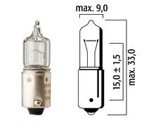 AMPOULE HALOGENE FLOSSER 12V 20W BA9S AUTO VOITURE LAMPE FEU AVANT PROJECTEUR