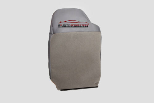 2000 2001 Dodge Ram Laramie Driver Lean Back Synthetic Leather Seat Cover Gray