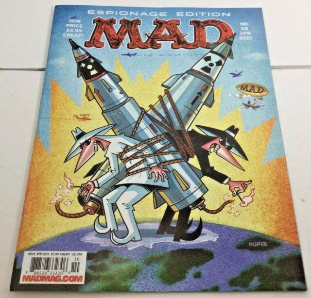 MAD Magazine Espionage Edition No. 18 APR 2021 Fast Free Shipping!