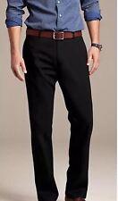 NWT Banana Republic Men. Gavin Chino Straight Fit. Size 30x32 Black Pants.Cotton