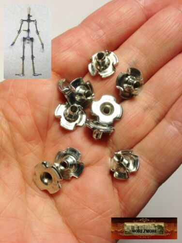 M00357 MOREZMORE 10 Metric M3 Thread Captive T-Nuts 3 Prong T Nut A60