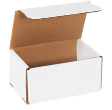 1 500 Choose Quantity 6x4x3 Corrugated White Mailers Packing Boxes 6 X 4 X 3