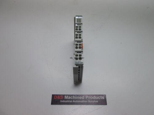 Beckhoff EL1004 4 Channel Digital Input Module 24VDC DIN Rail