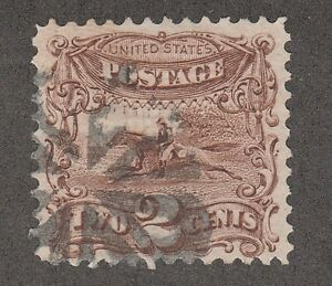 KAPPYSSTAMPS FOR ADVANCED COLLECTORS 2625 SC# 114 USED FANCY CANCEL XF-S CENTER