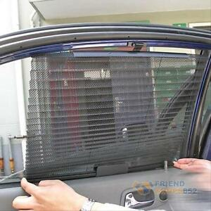 Image Is Loading Retractable Car Curtain  Side Window Shade Windshield Sunshade