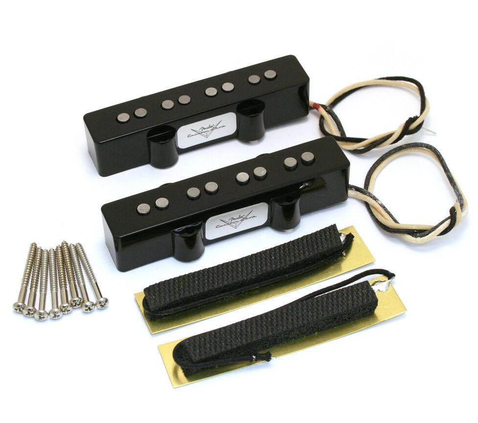 Vale trocar captadores de fábrica em um fender jazz bass americano por algum outro captador Fender? S-l1600