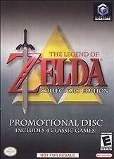 Rare ...Legend of Zelda Collector's Edition Nintendo GameCube, Promotional copy