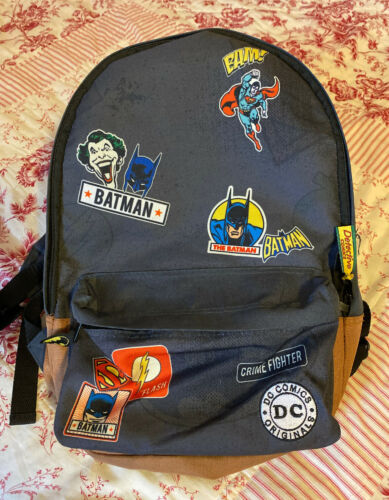 DC Comic Batman Joker Detective Comics Backpack Bo