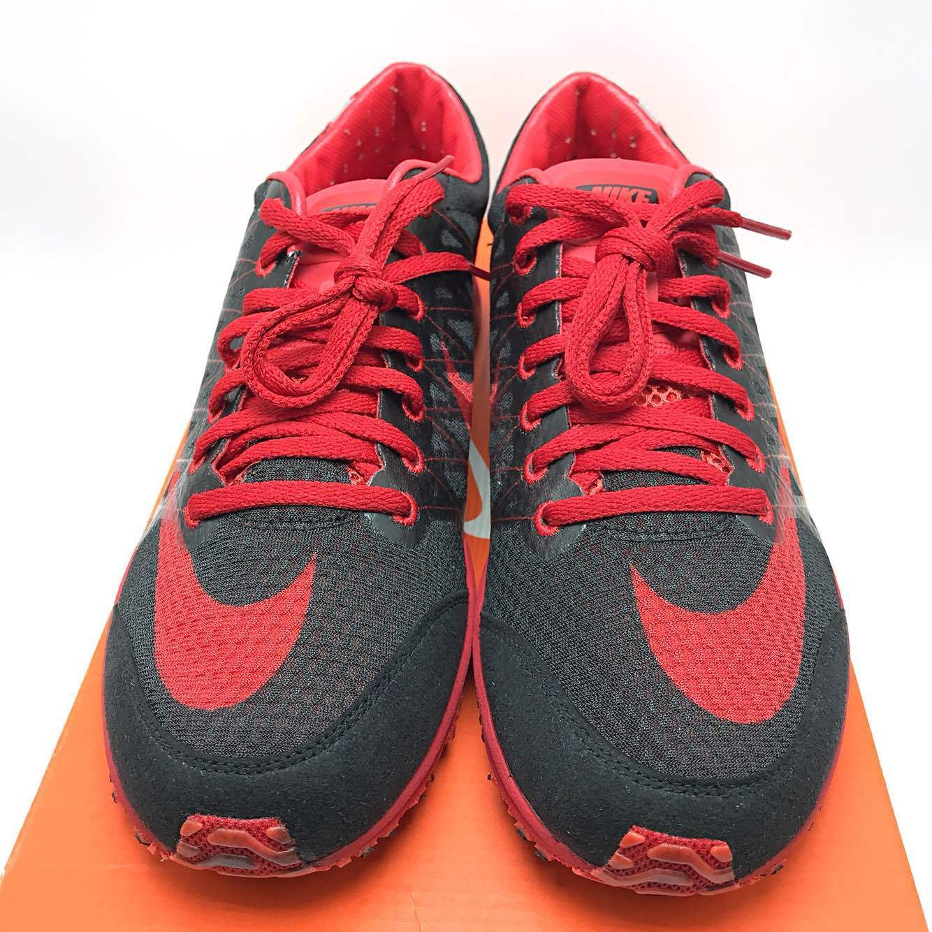 Nike Lunarspider R 3 Men Running Shoes Black/Red/Black 524963-060 Men size 8.5