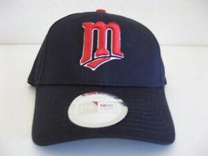 Minnesota Twins Hat Snapback MLB New Era Sewn Logo Baseball Cap One ... f94afd6db84c