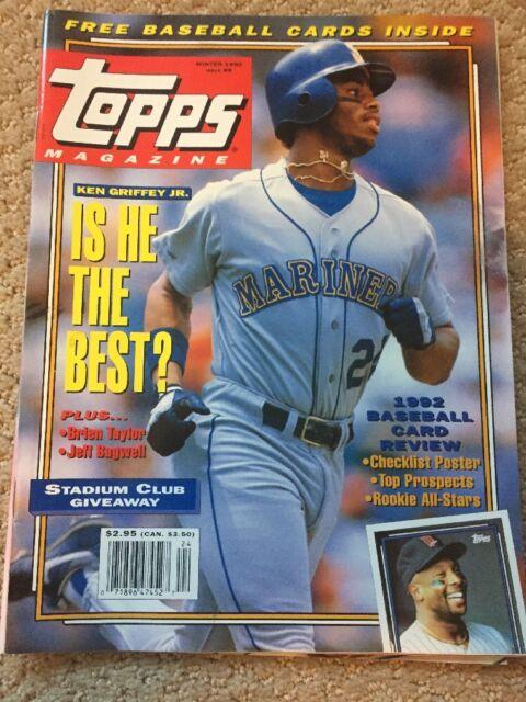 Winter 1992 Topps Magazine 9 Ken Griffey Jr