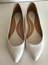 Alexander McQueen White Shoes Size 37 UK4