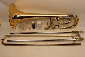 Yamaha BASS Trombone YBL421 G INTERMEDIATE with F Trigger