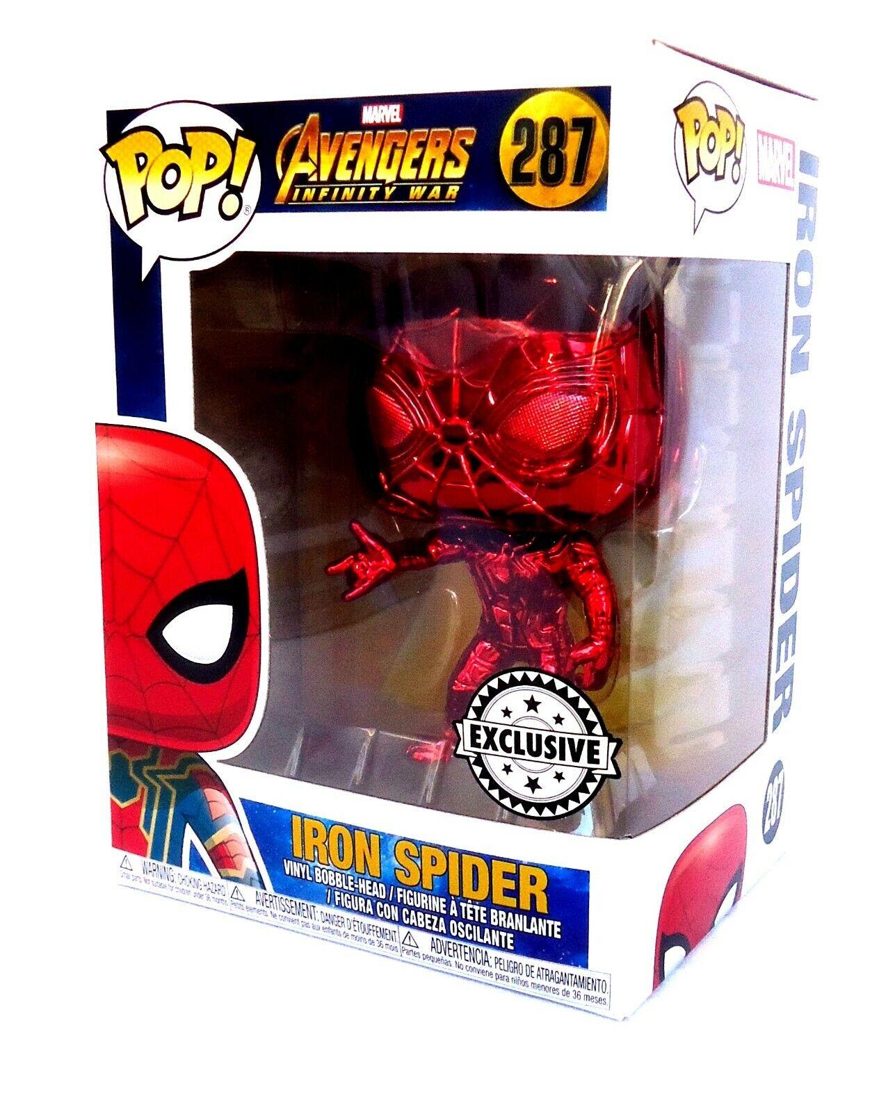 divertimentoko Pop  Vinyl-Chrome Iron Spider-Avengers Infinity War-Supanova Exclusive Exclusive Exclusive nuovo d7c156