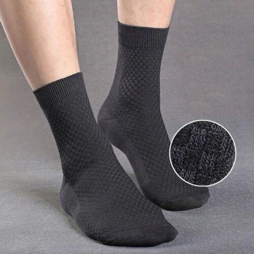 High Quality Soft Bamboo Fiber Men/'s Sports Socks Business Casual Ankle Socks