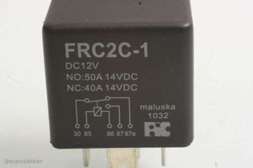 FIC Kfz-Relais FRC2C-1-DC12V 12 V//DC 1 Umschaltkontakt NO 50 A NC 40 A 14 V...