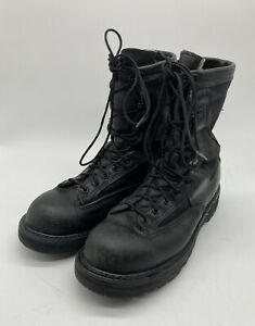 Mens 8 R Black Belleville GICB GORE-TEX Leather Military Engineer Boots