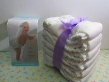 NIB Charlie Banana Cloth Pocket Diaper 6 XS W/ 6 Inserts White Mild Box Damage 4