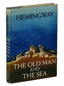 Old man and the sea 1952 book club edition