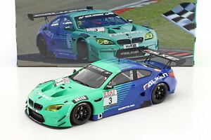 BMW-M6-GT3-3-Team-Falken-Winner-4-Rennen-VLN-Nuerburgring-2017-1-18-Minichamps