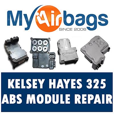GMC SIERRA 1500 ABS EBCM COMPUTER MODULE REPAIR REBUILD Kelsey Hayes 325 KH325