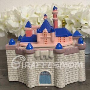 Disney Parks 2021 Disneyland Sleeping Beauty Castle Cookie Jar
