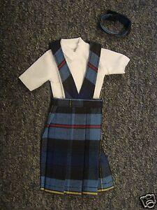 NIP-3-pc-SCHOOL-UNIFORM-Dress-Jumper-Outfit-Clothes-for-Barbie-doll-PLAID-41