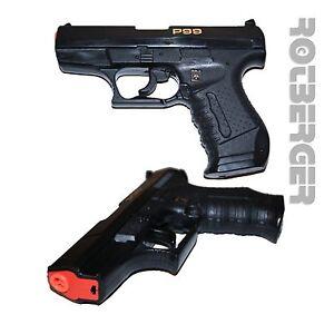 Kinderspielzeug Pistole Shoot Gun 3 Schuss Fasching Karneval Spielzeug Fasching