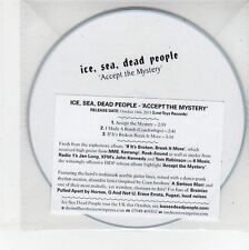 (EG194) Ice, Sea, Dead People - Accept The Mystery - 2013 DJ CD