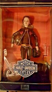 Harley-Davidson-Barbie-5-2000-NRFB-Mint-in-MINT-Box