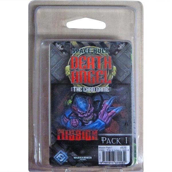 Space Hulk  Death Angel the Card Game - Mission Pack 1 expansion, W40k, NIB