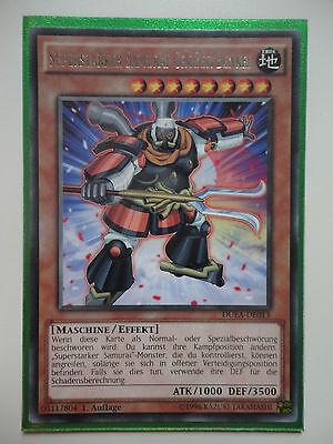 YU-GI-OH Superstarker Samurai Großer Benkei Super Rare AP06-DE007