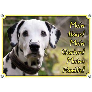 Bouclier pour chien Dalmatien - Bouclier en métal de qualité supérieure résistant aux rayons UV