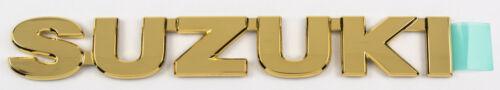 "Original Suzuki Swift 2005 Emblema Portón Trasero "" Suzuki "" Gold Insignia 99000-99097-ss1"