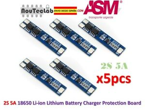 5pcs-2S-5A-Li-ion-Lithium-Lipo-7-4V-8-4V-18650-BMS-PCM-Battery-Protection-Board