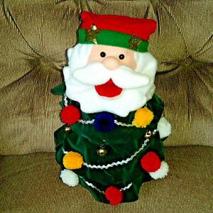 99ae6d9aea6d5 Image is loading Animated-Santa-Singing-Christmas-Holiday-Tree-Jingle-Bells-