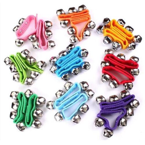 Adjustable Baby Hand Rattles Bells Wrist Ankle Bracelet Kids Children Toy Gift