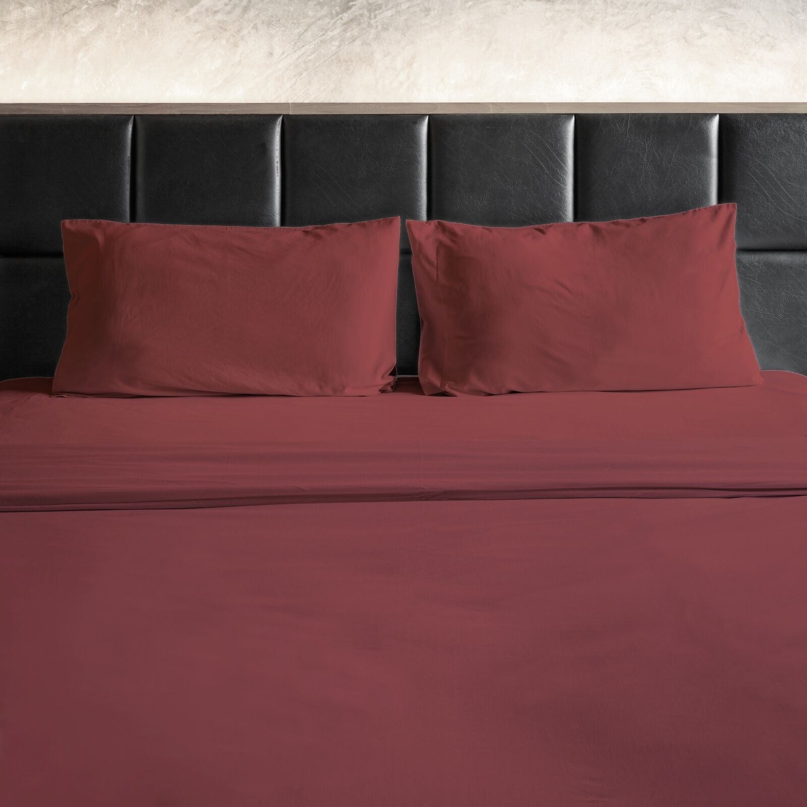 Egyptian Cotton Feel 1800 Thread Count Bamboo Feel 4 Piece Bed