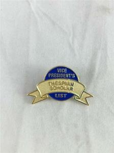 Details about NEW Thespian Scholar Vice President's List Pin