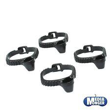 Playmobil ® Western ACW 4 x cinturón | holster negro para pistola | Revolver