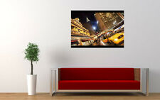 NEW YORK CITY TAXI NEW GIANT LARGE ART PRINT POSTER PICTURE WALL
