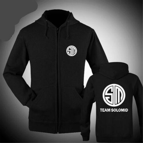 SALE League of Legends LOL Team Solo Mid Clan Hoodie cosplay Jacket Coat sweater