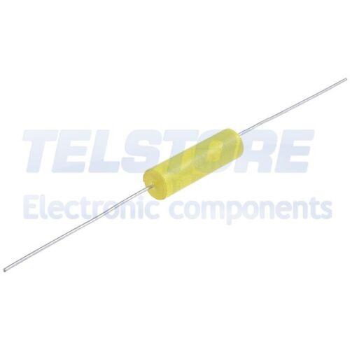 5pcs  Condensatore in polipropilene 0,22uF 250VDC ±5/% Ø8x15,5mm TELSTORE