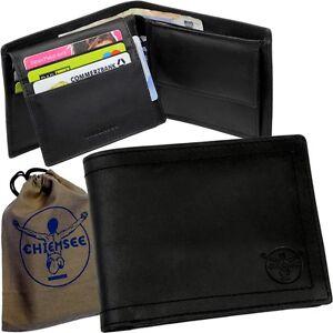 Chiemsee-Vintage-porte-monnaie-d-039-hommes-Porte-Monnaie-Portefeuille-Cuir-Neuf