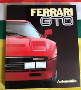 Ferrari 288 Gto / 250 Gto Book Francais Anglais Livre De Référence Automobilia Doux Et LéGer