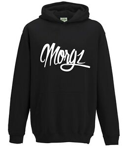 MORGZ-YOUTUBERS-KIDS-CHILDREN-HOODIE-TOP-YOU-TUBE-MERCH
