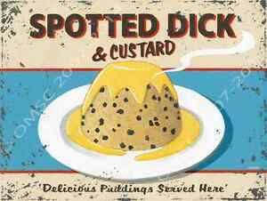 Spotted-Dick-and-Custard-Metal-Sign-British-Food