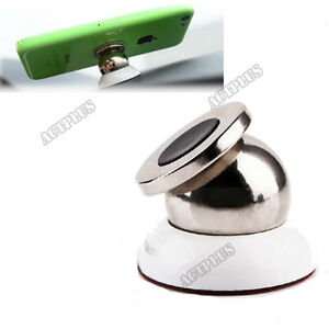 Magnetic car cell phone gps holder with 360 rotating 6