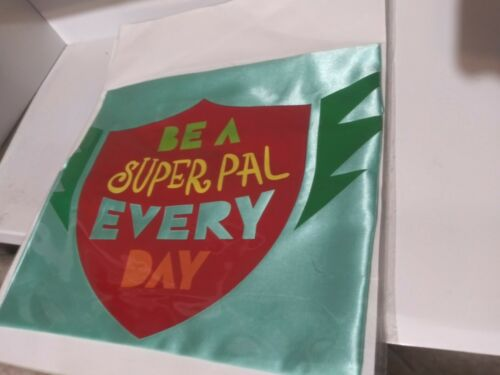 Details about  /Kids Novelty Cape Be A Super Pal Every Day